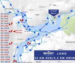 swimrun wiory mapa long